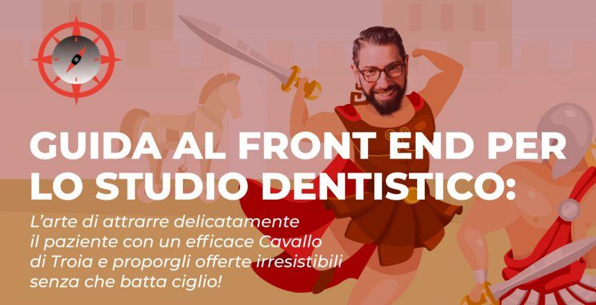 front end per lo studio odontoiatrico